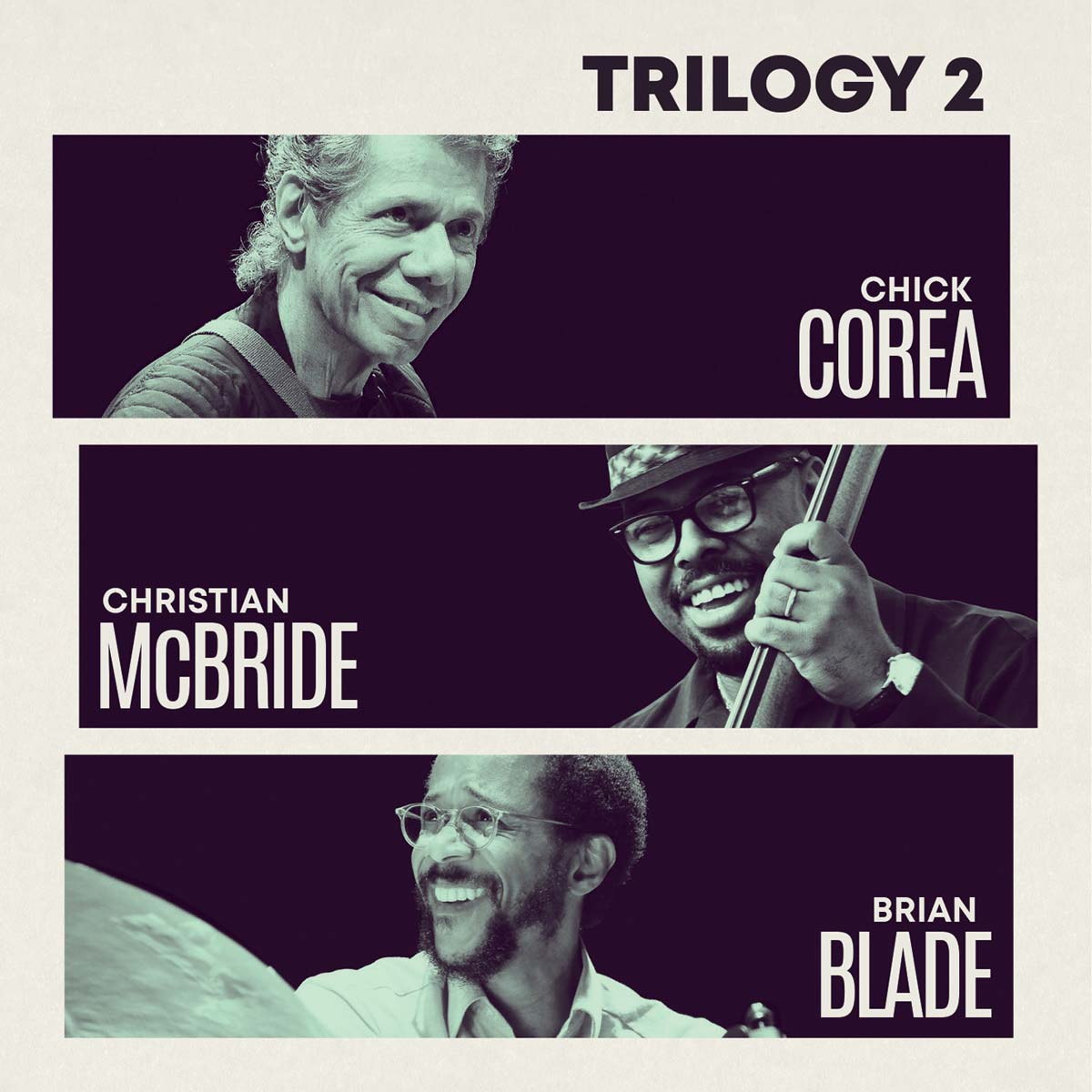 "Featured image for ""LEGENDARY PIANIST/COMPOSER CHICK COREA REUNITES WITH FELLOW JAZZ GREATS CHRISTIAN MCBRIDE AND BRIAN BLADE FOR THEIR SECOND COLLECTION OF VIRTUOSIC LIVE PERFORMANCES"""